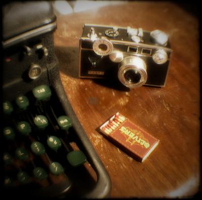 camera typewriter
